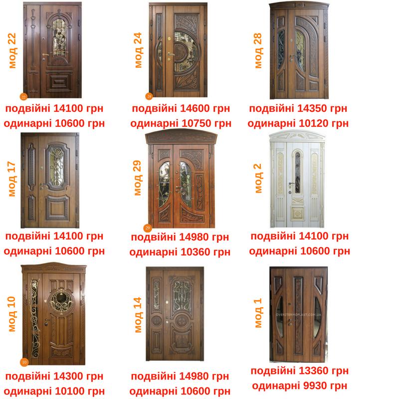 Акційні Двері ТМ Термопласт